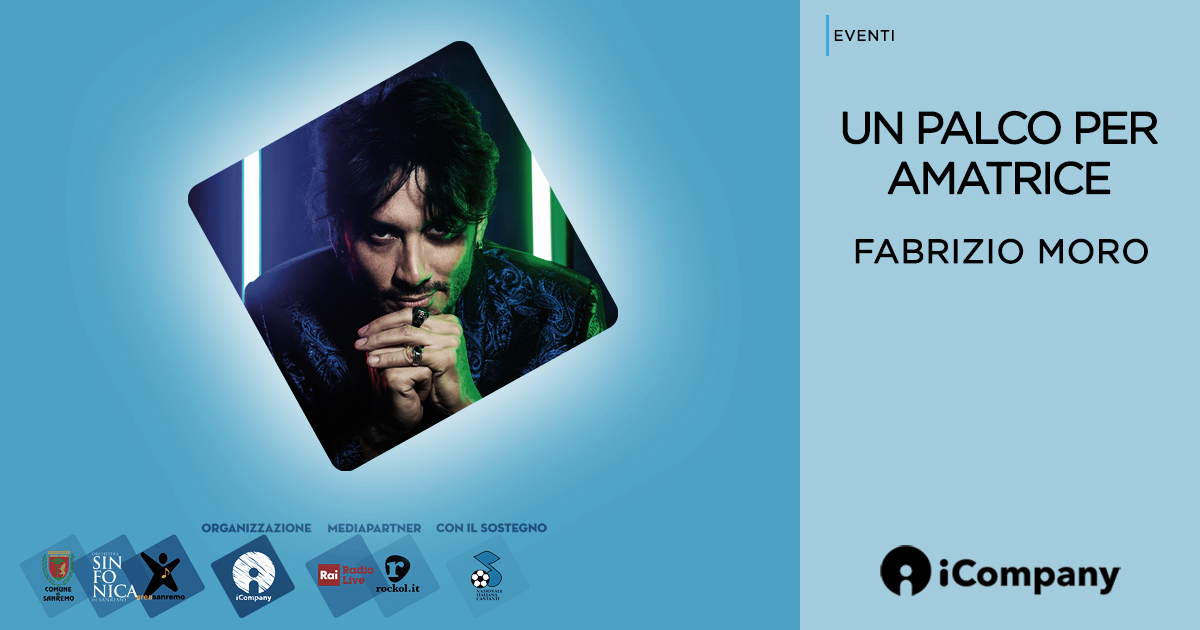 Fabrizio Moro a Un Palco per Amatrice - iNEWS