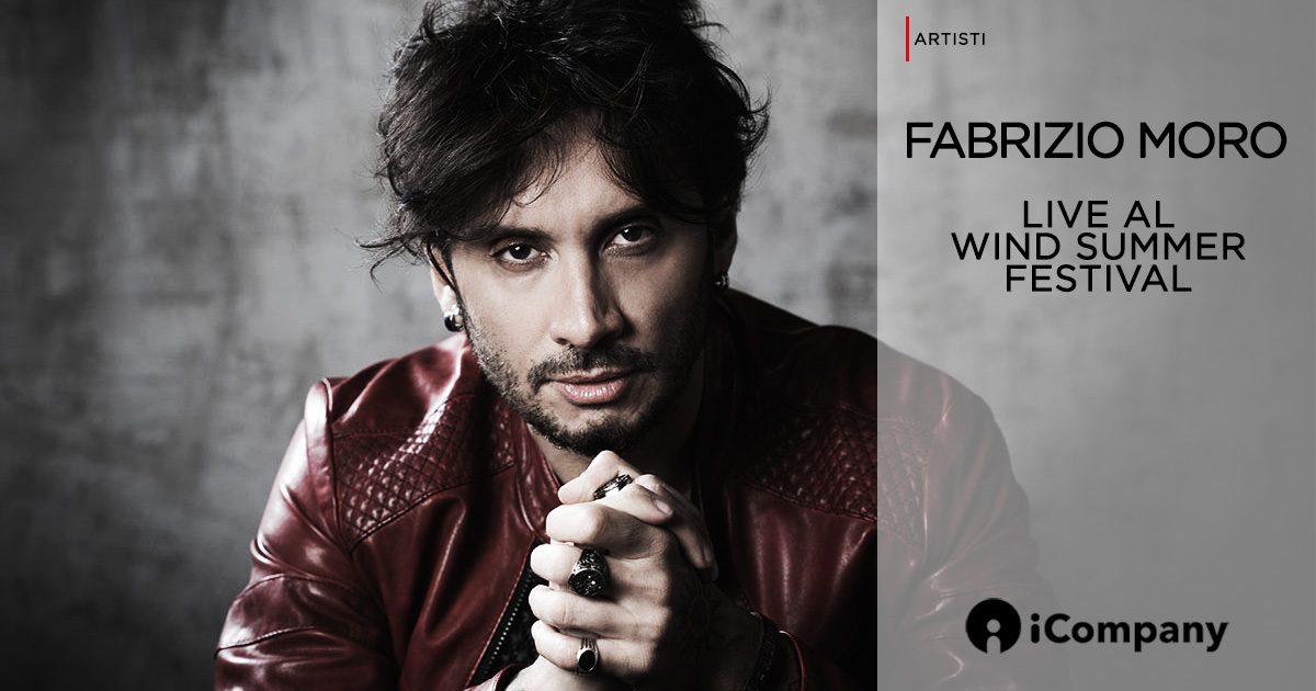 Fabrizio Moro Live al Wind Summer Festival - iNEWS