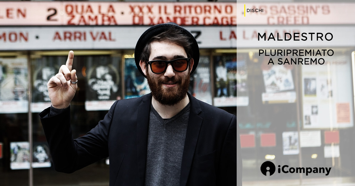 Maldestro pluripremiato a Sanremo 2017 - iNEWS