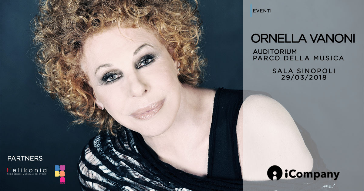 Ornella Vanoni - La mia storia all'Auditorium - iNEWS