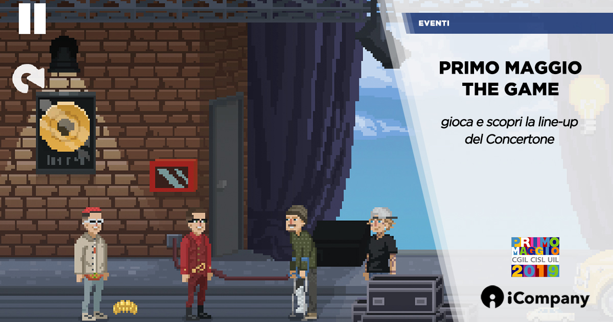 Primo Maggio The Game: online il videogame del Concertone 2019 - iNEWS