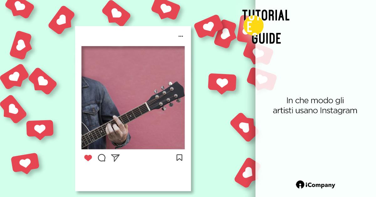 In che modo gli artisti usano Instagram