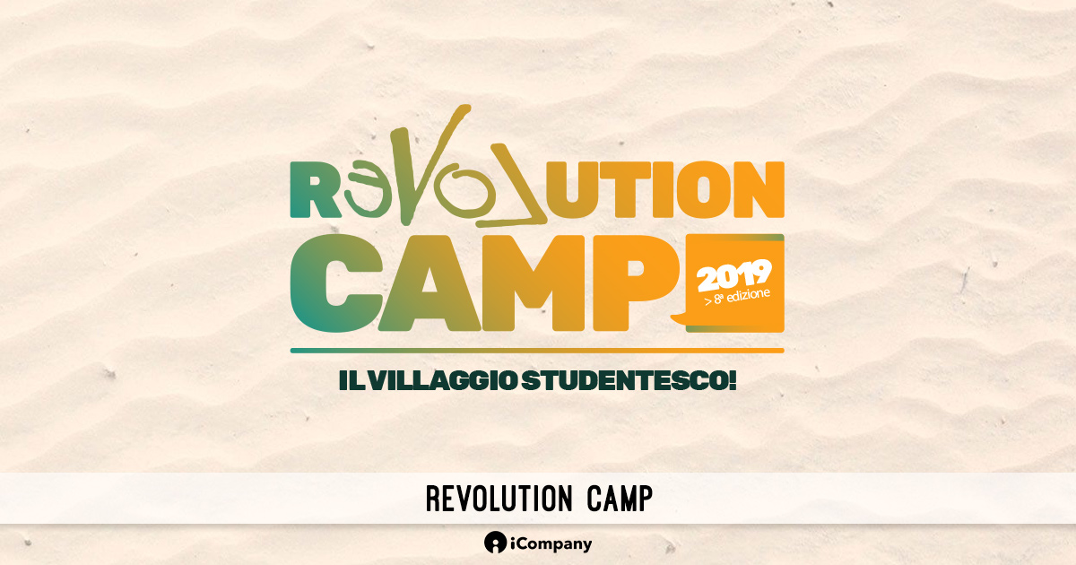 Revolution Camp - Eventi iCompany